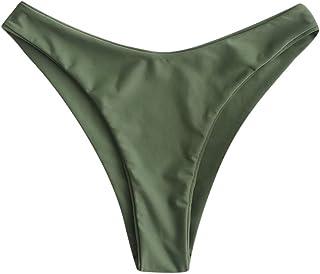 Best Women Braided Straps Lace Up Bikini Set Bralette Swimsuit Flower Bathing Suit Review