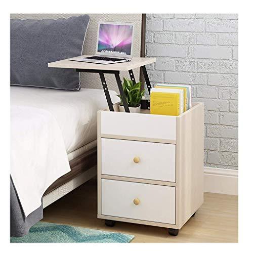 Soul hill nachtkastje Smart Life Lifting nachtkastje vouwbord desktop computer ijzer einde nachtkastje koffie bank eettafel nachtkastje eindtafels (kleur: A)