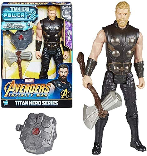 Zfggd Miracle Toys - Giocattoli DC - Avengers 3/4 Thor Action Figure 12 Pollici - Avengers Infinity War Series, Thor Giocattolo Modello, Adatto for Bambini dai 4 Anni in su