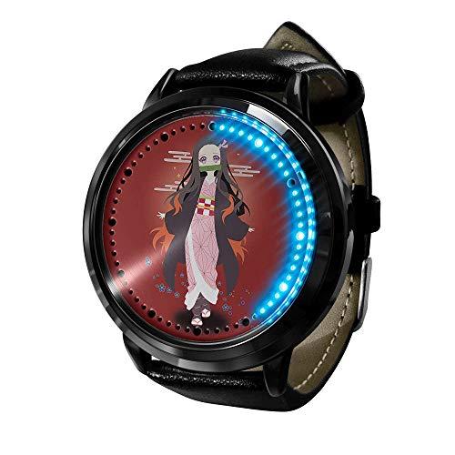 Demon Slayer Reloj 3D Anime Led Pantalla táctil a Prueba de Agua Reloj de luz Digital Reloj de Pulsera Unisex Cosplay Accesorios Regalo Nuevo