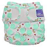 Bambino Mio, Mioduo Cobertor de Pañal Reutilizable, Caracol Travieso, Talla 2 (9 Kg+)