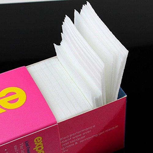 Arpoador 325 pcs Make Up Forme Carré Blanc du visage Remover cotons Nettoyage du vernis à ongles