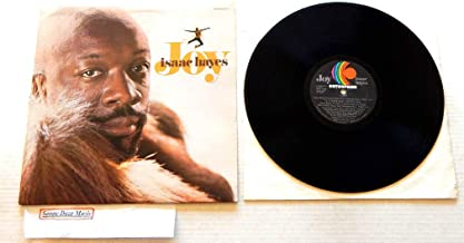 Isaac Hayes Joy - Enterprise Records 1973 - A Used Vinyl LP Record - 1973 Pressing ENS-5007 Embossed Cover - I Love You That's All - A Man Will Be A Man - The Feeling Keeps On Coming