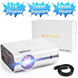 Best Tv Tuner Cards - Crenova Upgraded (+80% Lumens) LED Portable Projector Review