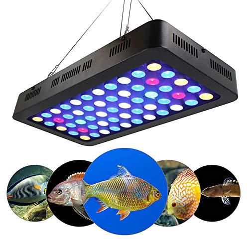 shuizudeng LED Aquarium Light,Grow Lights, 55 * 3w Manual Dimming Aquarium Light,165W Fish Tank Light, Dimmable Full Spectrum For Coral Reef Growing Fish Keeping Tank