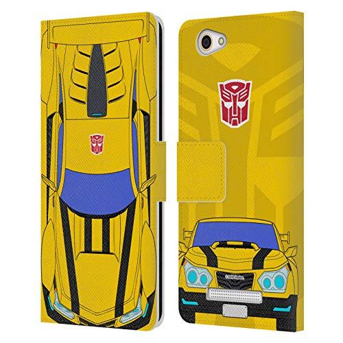 Head Hülle Designs Offizielle Transformers Bumblebee Wechsel Mode Leder Brieftaschen Handyhülle Hülle Huelle kompatibel mit Wileyfox Spark X