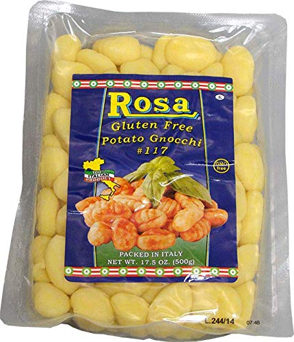 Rosa 17.5 oz. (500g) Gluten Free Gnocchi #117 (4 pack)