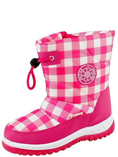 Gevavi Boots cw6107280 cw61 gefütterte fille Bottes, 28, rose