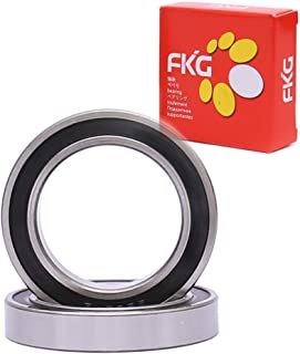 FKG 6001-2RS 12x28x8mm Deep Groove Ball Bearing Double Rubber Seal Bearings Pre-Lubricated 10 Pcs