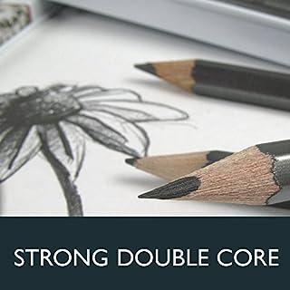 Derwent Graphic Drawing Pencils, Medium, Metal Tin, 12 Count (34214) للبيع