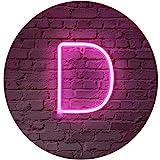 Rosa Segni di lettera al neon luce di notte LED Marquee lettere al neon arte luci decorati...