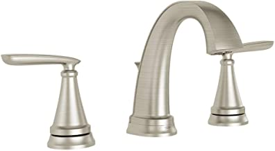 American Standard Somerville 8 in. Widespread 2-Handle Bathroom Faucet with Pop-Up Drain in Brushed Nickel