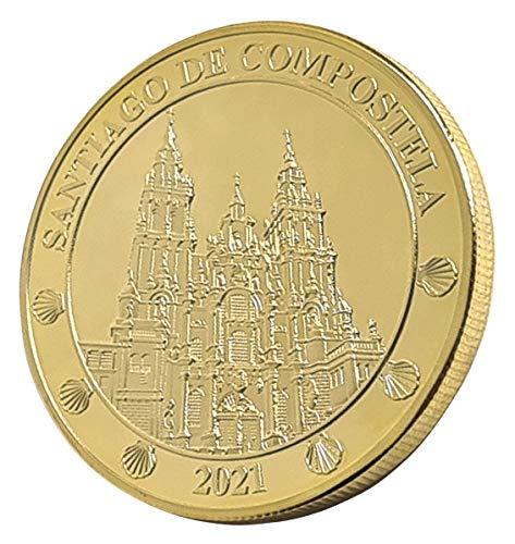 cARTEm. Moneda bañada en Oro de 24 Quilates. Camino de