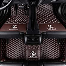 Fit for Lexus CT200h GX470 GX460 2004-2019 All Weather Car-Styling Custom Luxury Leather Waterproof Floor Mats Logo
