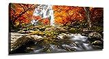 Ardemy Landscape Canvas Wall Art Waterfall Nature...