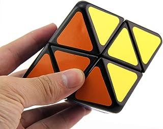 AI-YUN 4-Axis Octahedron Speed Cube 4-Axis Octahedral Diamond Shape Magic Cube Puzzle Toys Brain Teasers