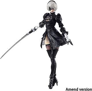Nier Automata Bring Arts: 2B & Machine Lifeform Action Figure PVC Figure Model Model Toys