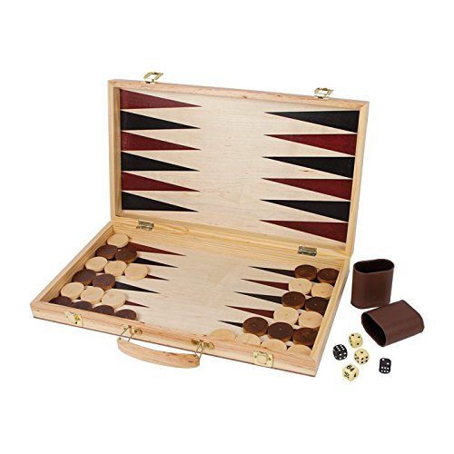 Legler Chess And Backgammon In A Suitcase by HSL
