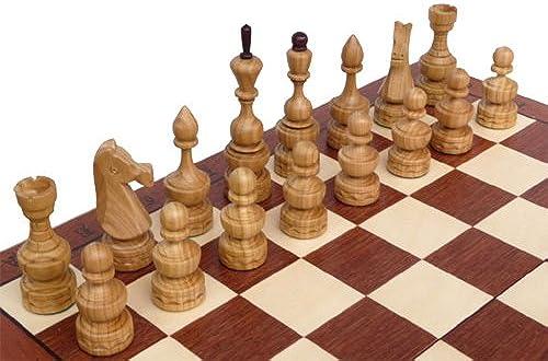 ChessEbook Edles Schachspiel Debüt 50 x 50 cm Holz Handarbeit
