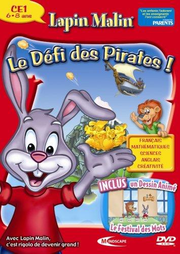 Lapin Malin CE1. Le défi des pirates ! 2007-08