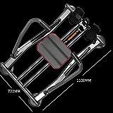 Ruderzugmaschine mit Home Fitness Full Motion Rudergerät Rower Kapazität und LCD-Monitor Rudertraining Fitnessgeräte (Farbe : Schwarz, Größe : Einheitsgröße) - 6