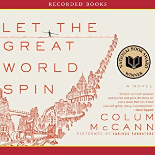 Let the Great World Spin audiobook cover art