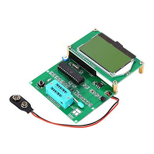 Zoostliss GM328 LCD Display Transistor Tester ESR Meter Cymometer Square Wave Generator