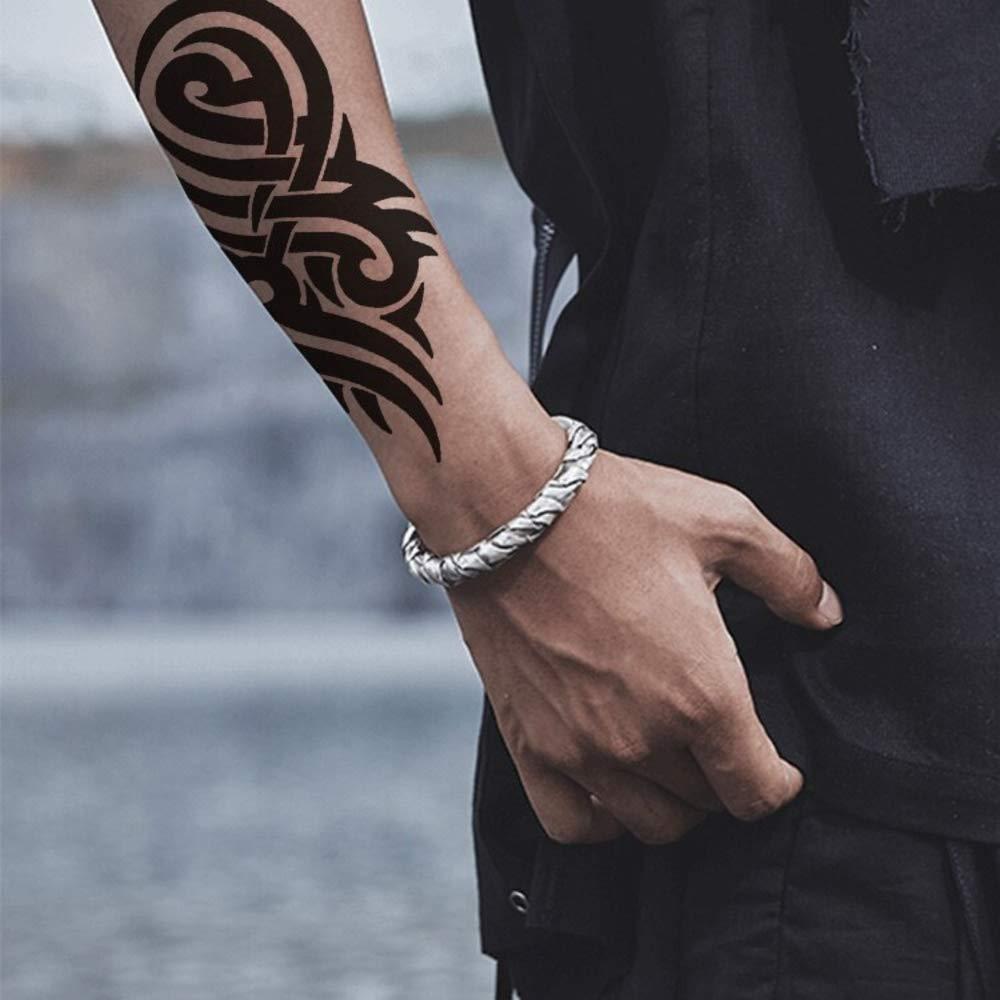 20D Temporary Tattoo Waterproof Sticker New Popular Cool Man's Hand ...