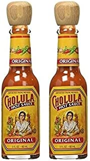 Cholula Original Mexican Hot Sauce with Wooden Stopper Top 2 oz (2 Pack)