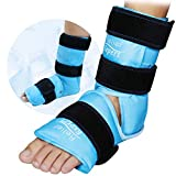 Relief Expert Ankle Foot Ice Pack Wrap for Injuries Reusable Gel Cold Pack