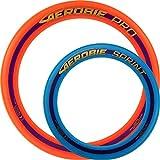 Aerobie Pro Wurfring Sprint Frisbee Ring Wurfspiel Set Pro Sprint Ring (Orange / Blau)