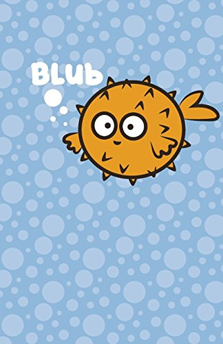 Puffer Fish Journal: 200 Pages lined Writing paper