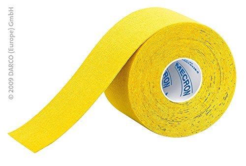 DARCO Elastic Tape, gelb, 5 cm x 5 m, DKT-G by MECRON