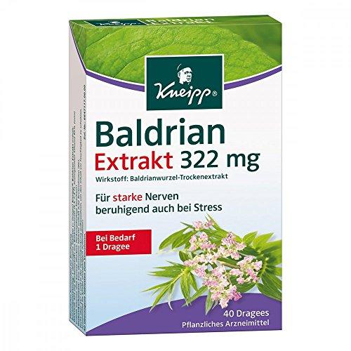 KNEIPP Baldrian EXTRAKT extra stark überz.Tabl. 40 St
