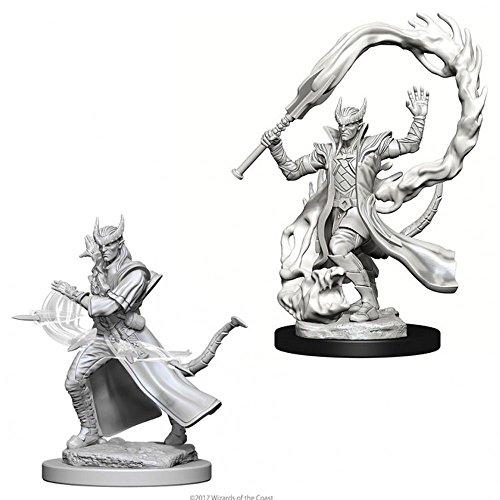 D&d Nolzur's Marvelous Unpainted: Tiefling Male Sorcerer