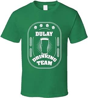SHAMBLES TEES Dulay Drinking Team St. Patrick's Day Last Name Group T Shirt