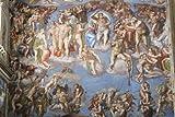 Classic Michelangelo Sixtinische Kapelle Last Judgement