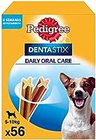 Pedigree Dentastix Snack Dental para la Higiene Oral de Perros Pequeños (1 Pack de 56ud)