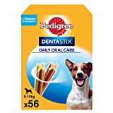 Pedigree Dentastix Snack Dental para la Higiene Oral de Perros Pequeños (1 Pack de 56ud)