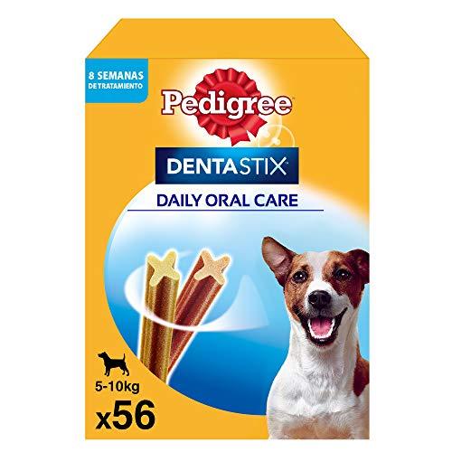 Pedigree Pack de Dentastix de uso Diario para la Limpieza Dental de Perros Pequeños (56ud)