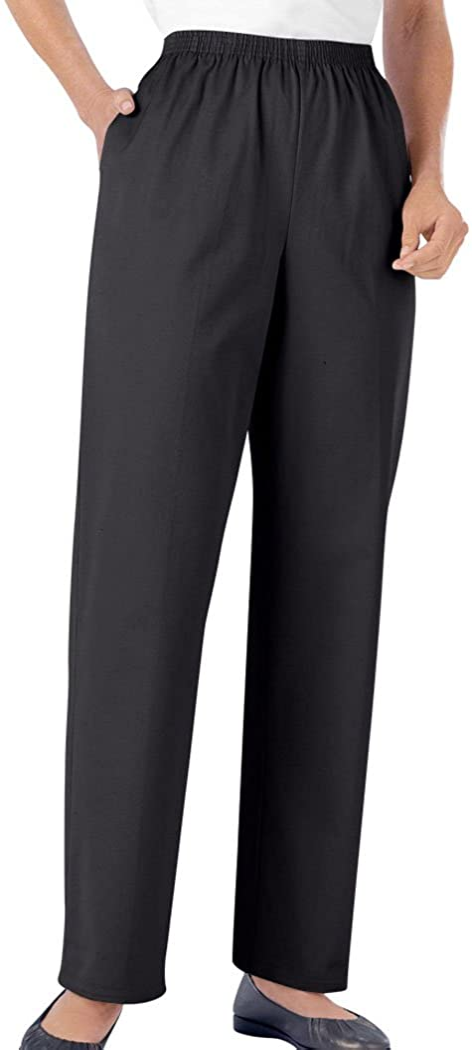 All Around Elastic Waist Cotton Medium Twill Pants