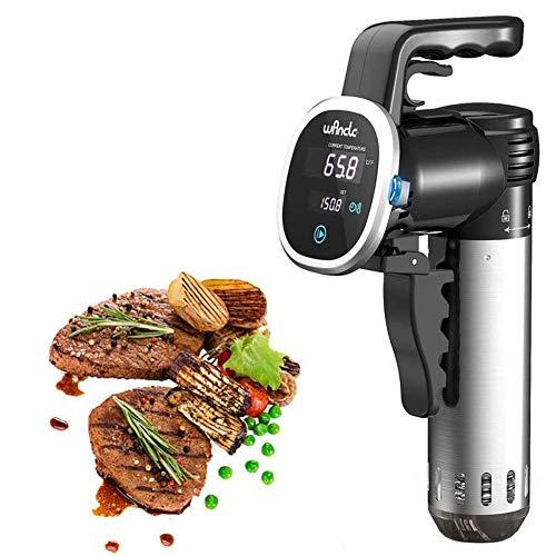 Precision Cooker, Professional Immersion Circulator Adjustment, 850 Watts, IPX7 Waterproof Precise Cooker, Vacuum slow processor DDLS