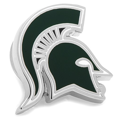 Michigan State Spartans NCAA Logo'd Executive Cufflinks w/ Jewelry Box