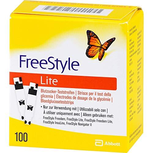 Freestyle Lite - Tiras de prueba sin codificación (100 unidades)