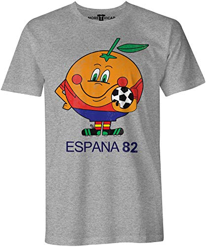 More T Vicar Spain 82 - Hombres Football World Cup T Shirt