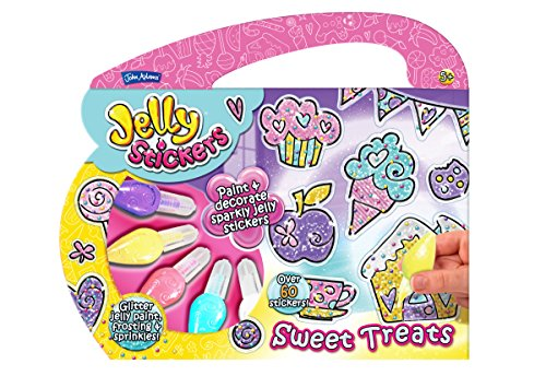 John Adams Sweet Treats Jelly Sticker Activity Set