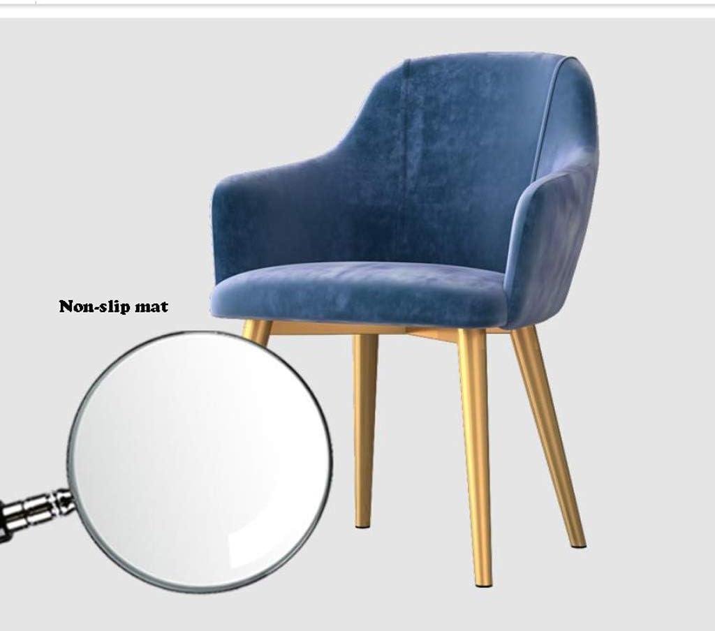 Stable Simple chaise bureau étudiant et chaise de maquillage tabouret retour à la maison à manger chaise d'ordinateur Gratuit (Color : Pink) Yellow