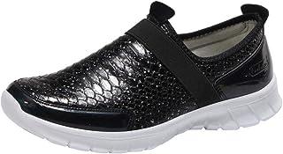 8b15cdcbbdf Zapatillas de Deportivo Plano para Mujer Otoño Invierno 2018 Moda PAOLIAN  Calzado de Dama Piel de