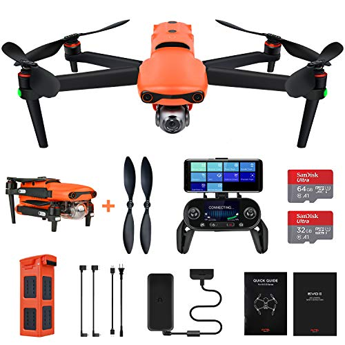 Aute Robotics EVO 2 8K Camera Drone Foldable Quadcopter (2020 Newest)