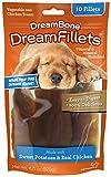 Dreambone Dream Fillets Sweet Potato And Chicken Dog Chew, 10-Count